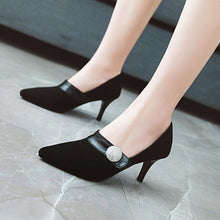 Load image into Gallery viewer, Stiletto Heel  Bride Shoes Women Pumps