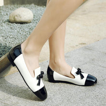 Load image into Gallery viewer, Girls Woman's Leisure Bow Flat Shoes