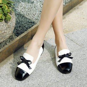Girls Woman's Leisure Bow Flat Shoes