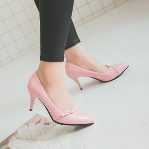 Sexy Thin Heel High Heel Shallow Mouth Women Pumps