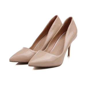 Pointed Toe Stiletto Heel Stiletto Heel  Women Pumps