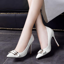 Load image into Gallery viewer, Sexy Super Stiletto Heel  Shallow Mouth Bride Shoe Women Pumps