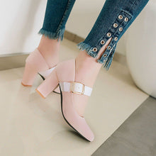 Load image into Gallery viewer, Buckle High Heeled Women Pumps