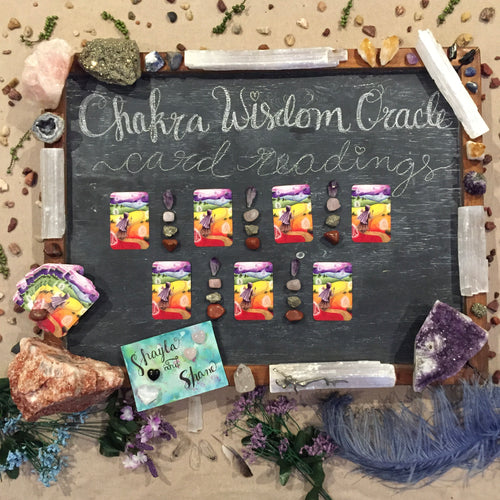 Chakra Wisdom Oracle Reading