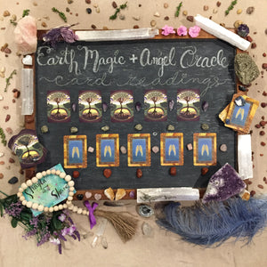 Virtual Earth Magic & Angel Oracle Card Reading - SALE RATE