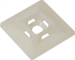 Mounting Base - White - 100 Pack