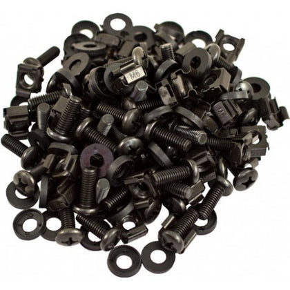 M6 Cage Nuts and Screws 50pc