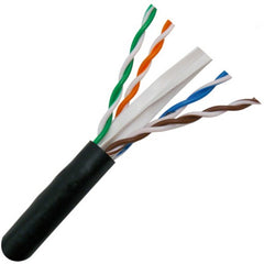 CAT6 UV Rated Bulk Cable - 100ft Increments