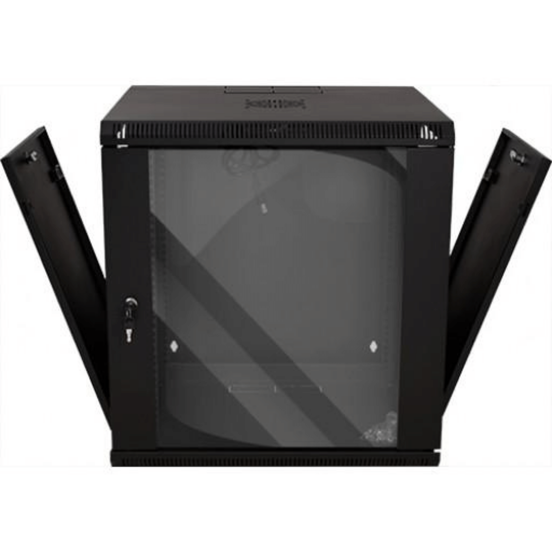 12U Wall Mount Swing Out Enclosure