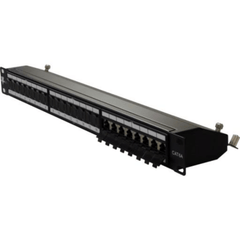 24 port CAT6A Shielded Patch Panel - Free Krone Tool