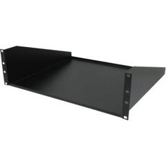 3U Non Vented Shelf - Black