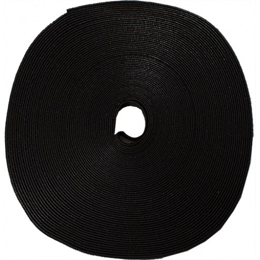 black roll of Velcro ties