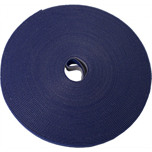 Blue roll of Velcro ties