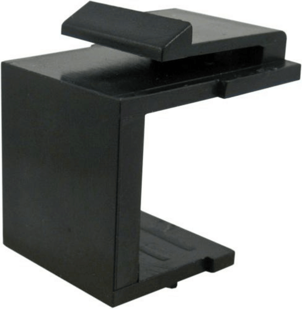 Blank Keystone Insert For Wall Plates or Surface Mount Boxes