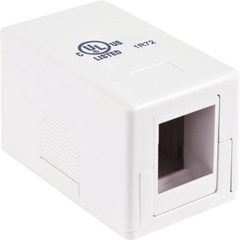 Blank Surface Mount Box, 1-Port