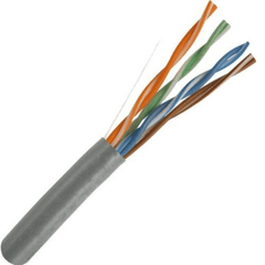 CAT5E 350MHz UV Rated Bulk Cable 1000ft. Gray
