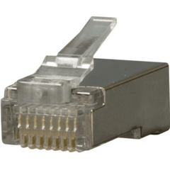 CAT5e Shielded RJ45 Modular Plug - 100 Pack