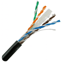 CAT6 Direct Burial Outdoor Cable Gel Filled - 100ft Increments