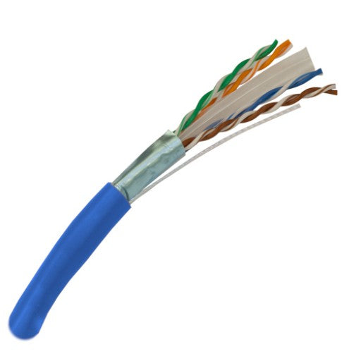 CAT6 Shielded Riser Rated Bulk Cable - 100ft Increments