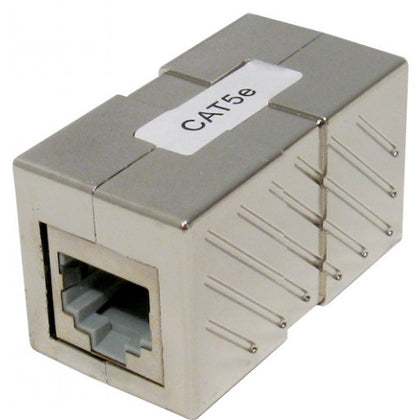 CAT5E RJ45 to RJ45 Shielded Inline Coupler