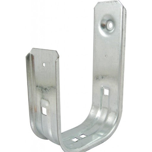 "Galvanized Steel 3/4"" J-Hook. Supports CAT5E, CAT6, Coaxial, Audio, Fiber Cables. Holds up to 300 Cables. UL Listed"