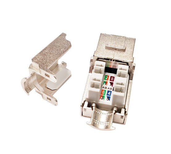 CAT6 Shielded Keystone Jack
