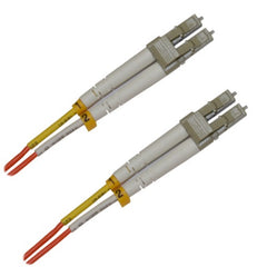 LC-LC Multimode Duplex Fiber Patch Cable