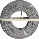 Solid, Unshielded, 22AWG, 2 Conductor, 500ft. Coil pack, Gray
