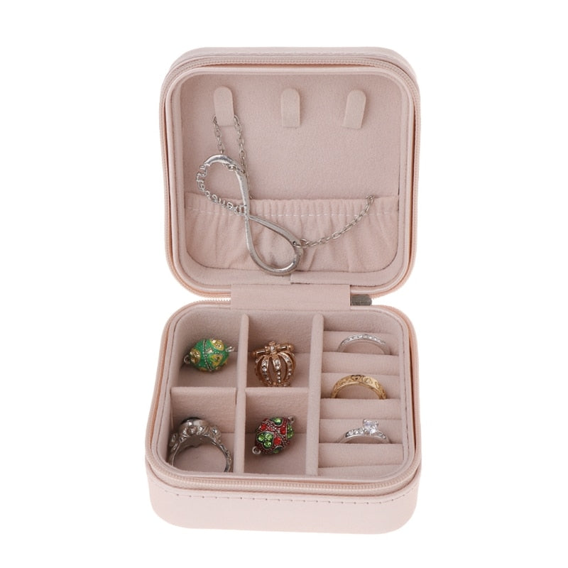 Portable Jewelry Display Travel Case