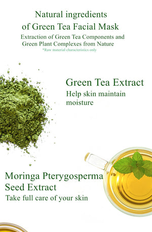 Green Tea Face Peal Mask