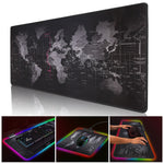 World Map Gaming Mouse Pad/ Extra Large Mouse Pad
