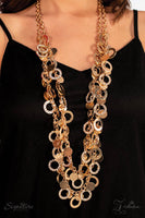 The Carolyn - 2018 Vintage Paparazzi Zi Collection Necklace & Earrings Set - GlaMarous Titi Jewels
