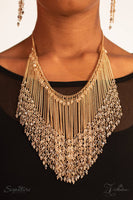 The Donnalee - 2018 Vintage Paparazzi Zi Collection Necklace & Earrings Set - GlaMarous Titi Jewels