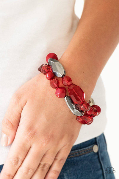 Rockin Rock Candy - Red - GlaMarous Titi Jewels