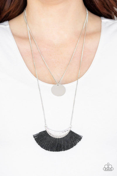 Tassel Temptation - Black - GlaMarous Titi Jewels