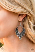 Mojave Melody - Silver Earrings - Paparazzi Accessories - GlaMarous Titi Jewels