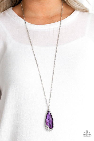 Spellbound - Purple Necklace - Paparazzi Accessories - GlaMarous Titi Jewels
