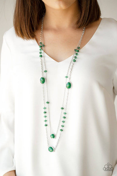 Dazzle The Crowd - Green - GlaMarous Titi Jewels