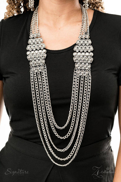 The Erika - 2019 Paparazzi Exclusive Zi Collection Necklace & Earrings Set - GlaMarous Titi Jewels