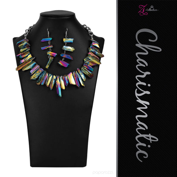 Charismatic - 2020 Zi Collection Necklace Set - Paparazzi Accessories - GlaMarous Titi Jewels
