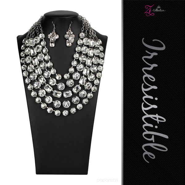 Irresistible - 2020 Zi Collection Necklace Set - Paparazzi Accessories - GlaMarous Titi Jewels