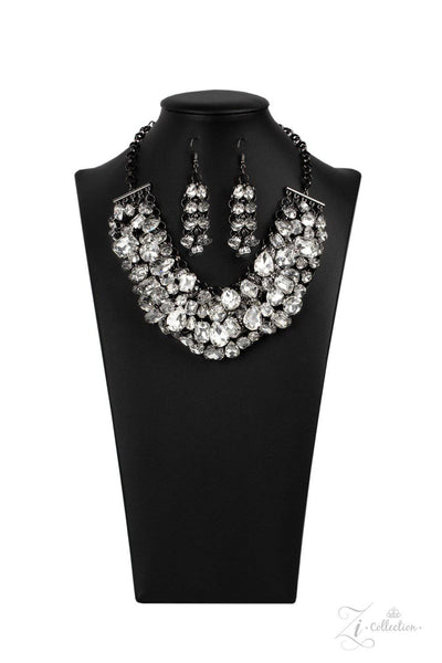 Ambitious - 2020 Zi Collection Necklace Set - Paparazzi Accessories - GlaMarous Titi Jewels