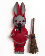 Load image into Gallery viewer, Krampus Bunny Ornament (1)