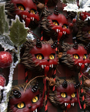Load image into Gallery viewer, Krampus Kitty Faux Lollipops