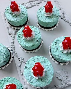Mini Mint n' Chip Fake Cake