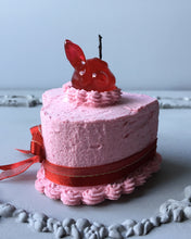Load image into Gallery viewer, Mini Strawberry Bunny Fake Cake