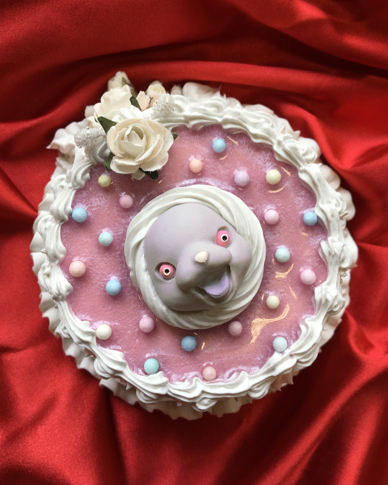 Valentine Wall Hanging Fake Cake (A)