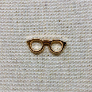 Tiny glasses pin