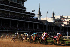 The Kentucky Derby in 2015 / Chris Graythen / Getty Images