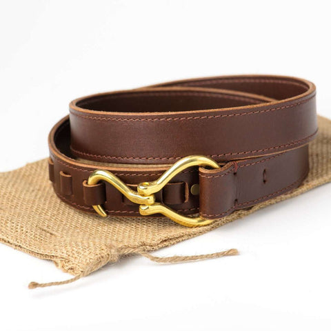 BB - Brown Buffalo Hoof Pick Belt